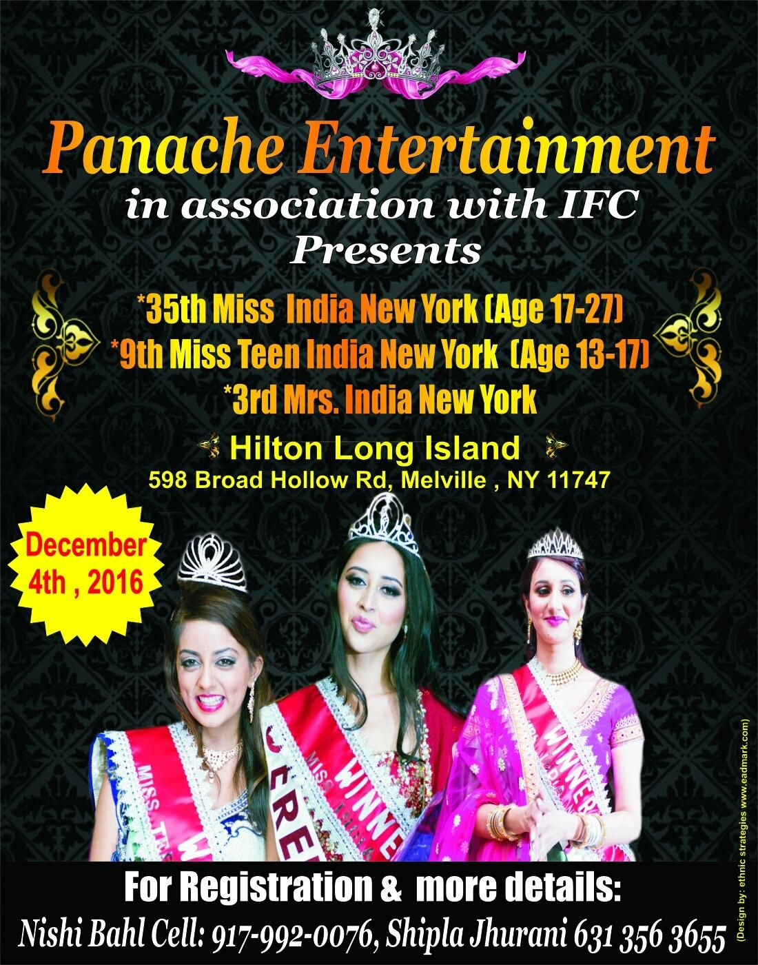 Panache Entertainment (Miss India New York
