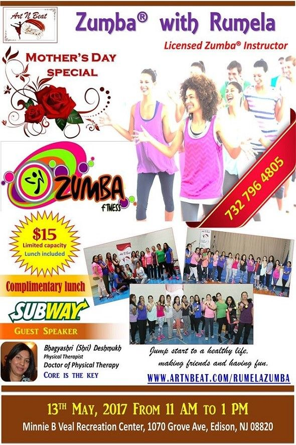Mother's day Special Zumba