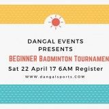 Beginner Badminton Tornament-2017-4-11-6-16-40