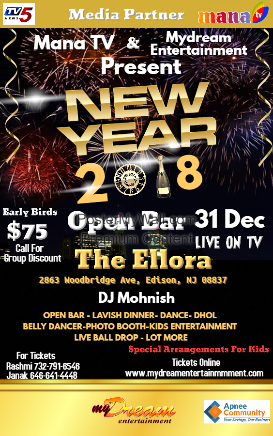 New Year Party Poster new (8)