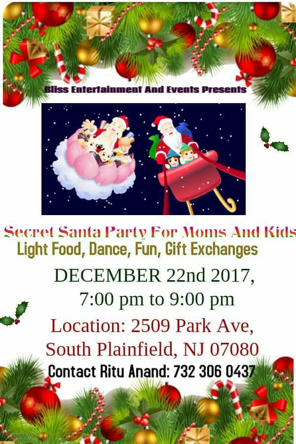 Secret Santa Party for Moms & Kids_n