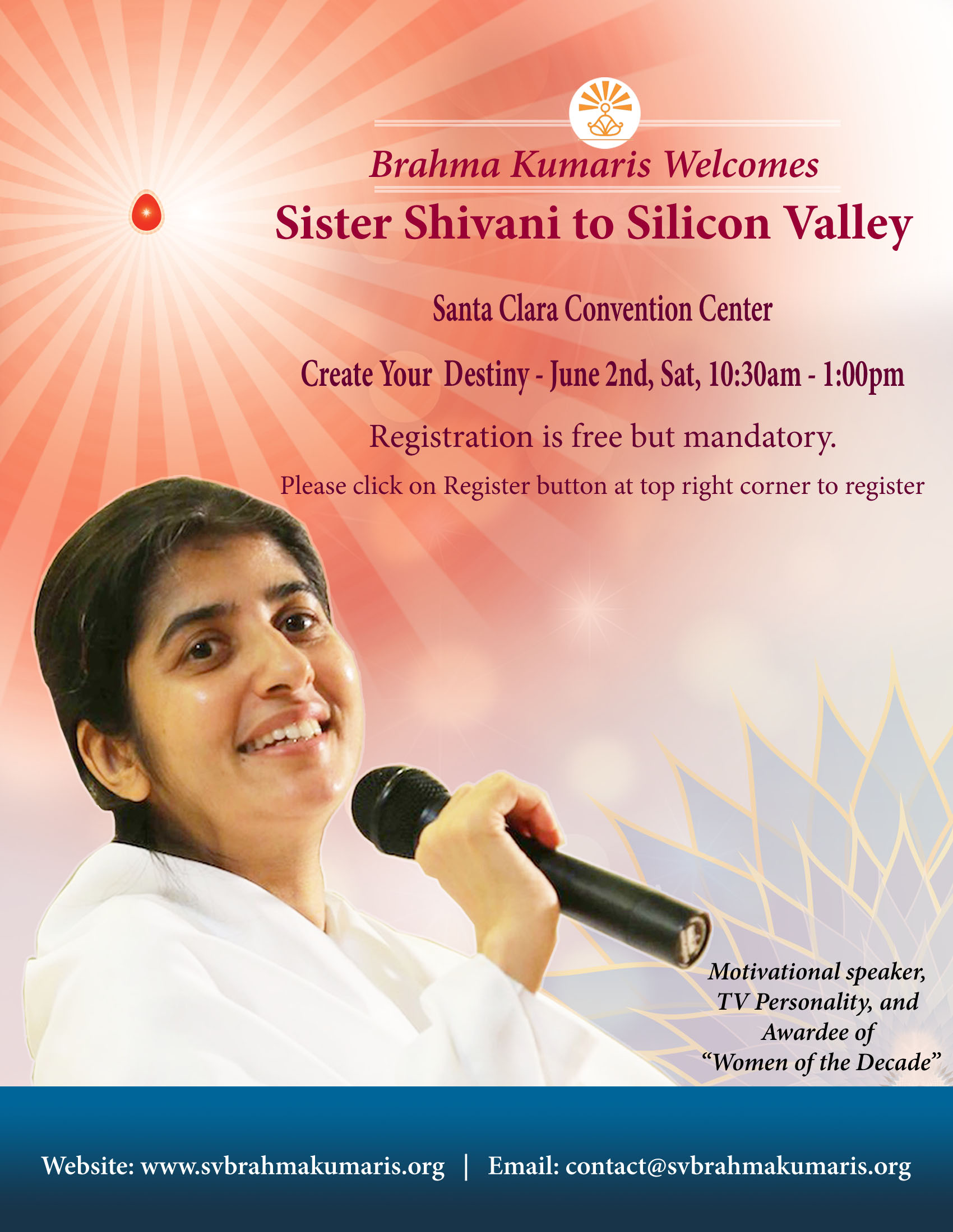 FlyerSisterShivani_Create Destiny