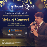 Chand raat mela and concert, upcoming event in Texas, events near me, top events in USA, events today, events nearby, desi events, Indian events, cultural events, religious events