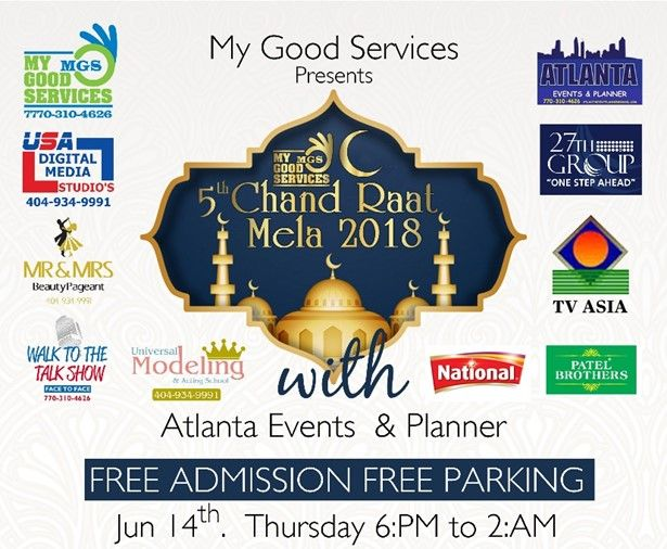 Eid-al-Fitr, upcoming events in USA, Eid mela, Eid Bazaar, events near me, events nearby, desi events, Indian events, events today, top events in USA, events in Georgia, Eid events