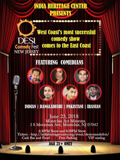 Desi Comedy - NJ