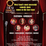 Desi Comedy Fest, upcoming event in new jersey, events nearby, events near me, events today, comedy events, the comedy shows, desi events, Indian event