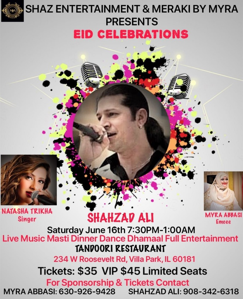 Eid-al-Fitr, desi events, Eid celebrations, upcoming events in USA, events nearby, events near me, events today, top events in USA, Indian events, musical events, musical concerts