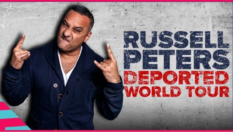 Russell Peters, upcoming events in Canada, top events in Canada, events near me, events nearby, comedy events, comedy shows,