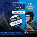 Abhishek Upmanyu Boston Comedy Show