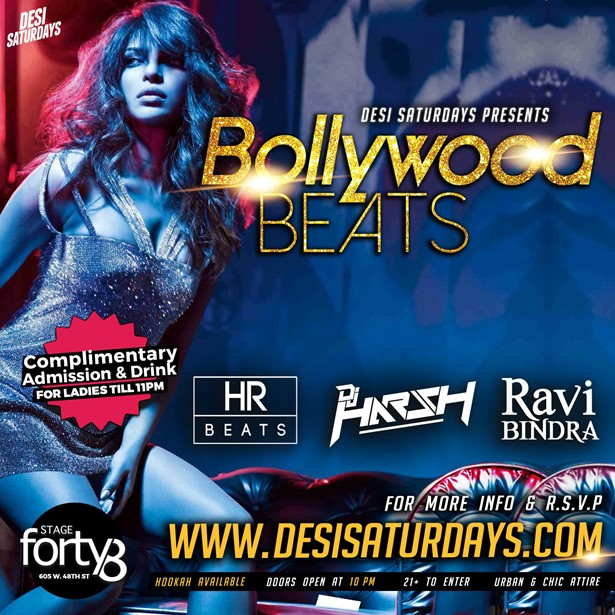 upcoming events in New York, events today, events near me, events nearby, desi party, desi events, Bollywood night near me, Bollywood Night, nightlife, Saturday night live