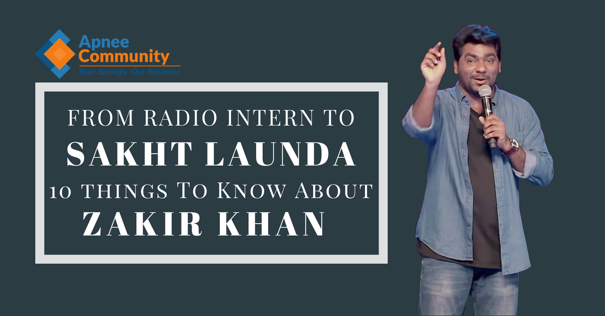 From Radio Intern to Sakht Launda, 10 Things You Need to Know About Zakir Khan