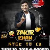 Zakir Khan, upcoming event in USA, desi events, Indian events, comedy shows, comedy events, events today, events nearby, events near you, top events in USA, events in bay area