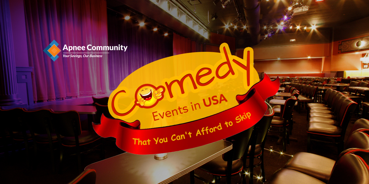 2 Comedy Events in USA That You Can't Afford to Skip