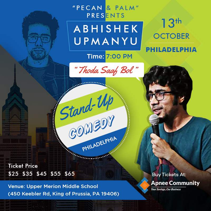 Abhishek Upmanyu - Indian Stand-up Comedian