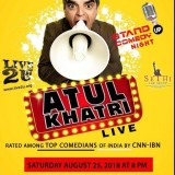 Atul Khatri Comedy Show live in New Jersey