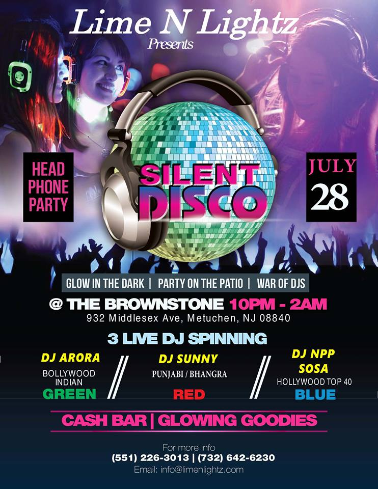 Silent Disco july 28th