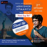 Abhishek Upmanyu New York Comedy Show