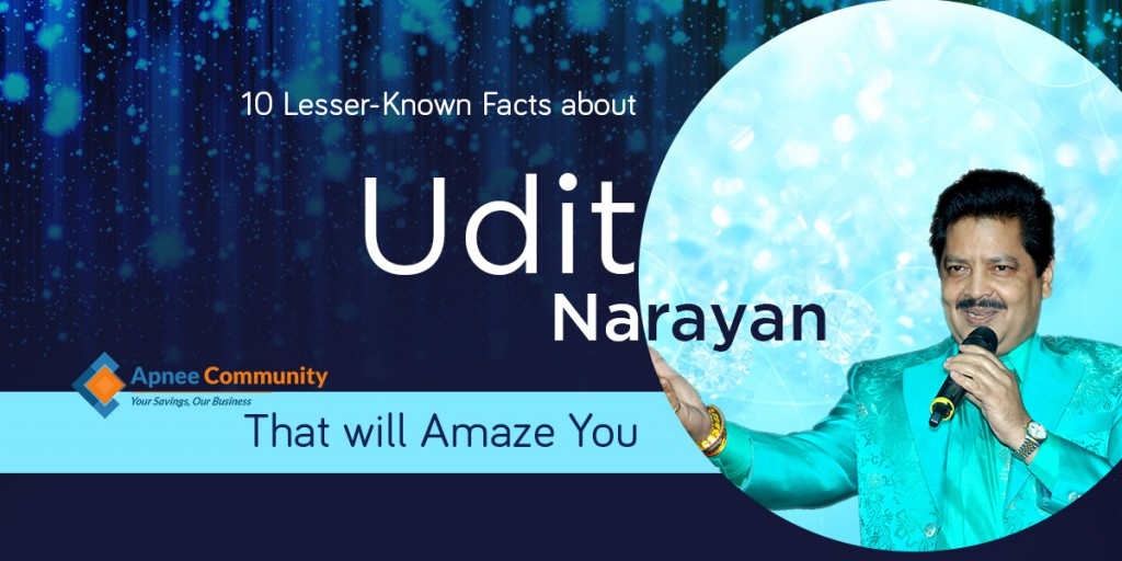 10 Lesser-Known Facts about Udit Narayan that will Amaze You