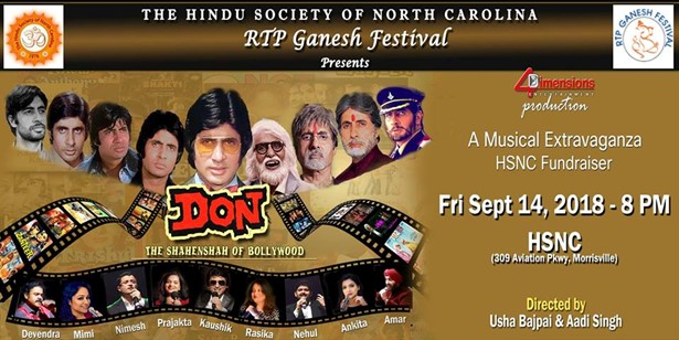 Don The Shahenshah of Bollywood - A Live Music Concert