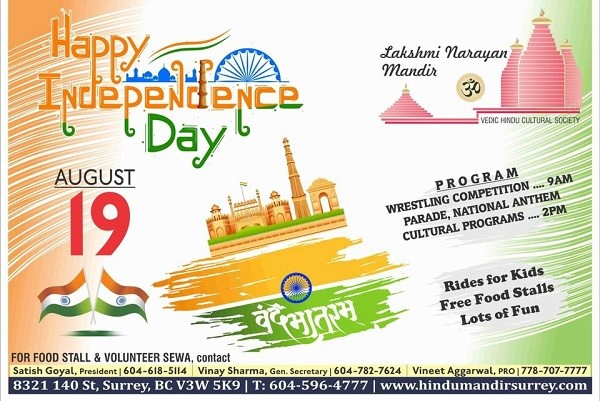 India-Day-Celebration-British-Columbia-ApneeCommunity