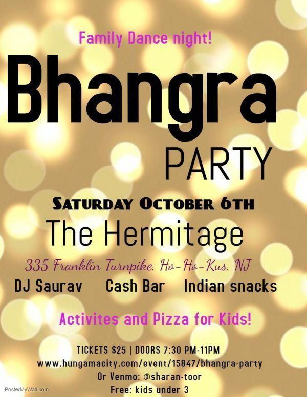 Bhangra party - new jersey