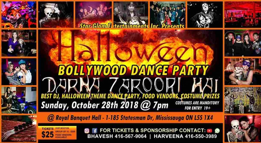 Darna Zaroori Hai - A Halloween Thriller Bollywood Dance Party