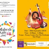 Mahesh Kale Live Music Concert in California