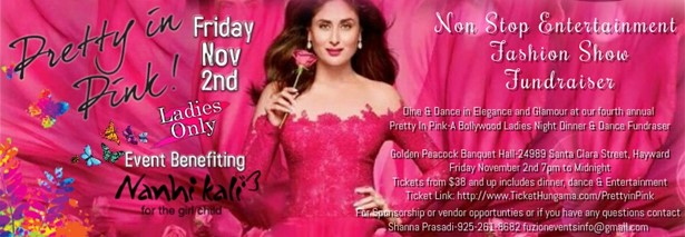 Pretty in Pink - Bollywood Ladies Night
