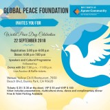 World Peace Day Celebration 2018 in California