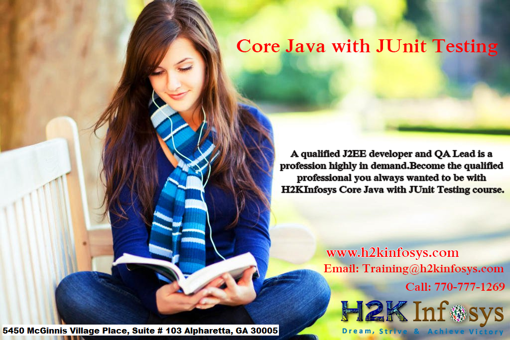 core java with junit testing