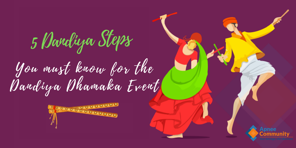 5 Dandiya Steps you must know for the upcoming Dandiya Dhamaka Event