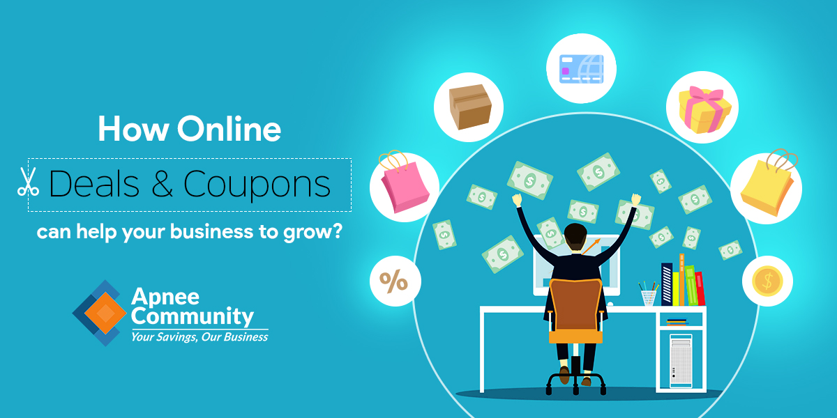 How Online Deals & Coupons can help your Business to Grow?