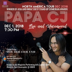 Papa CJ: Live and Uncensored in New Jersey