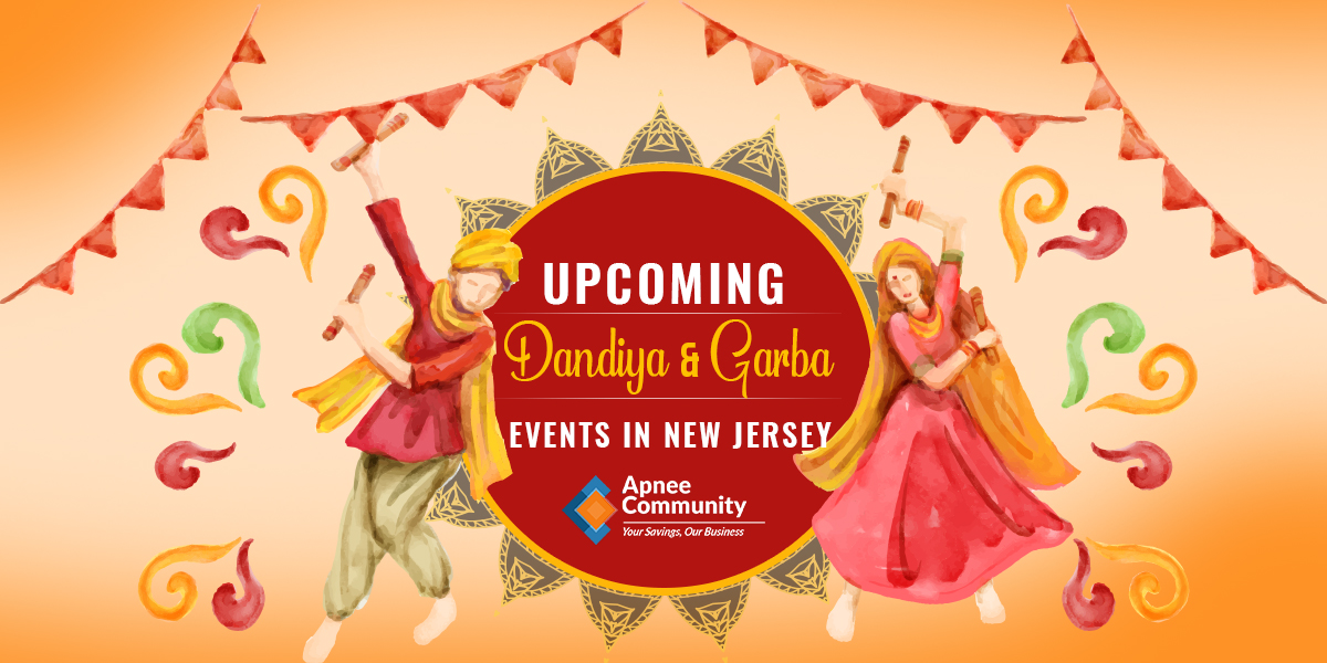 Upcoming Dandiya & Garba Events in New Jersey