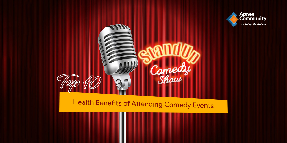 Top 10 Health Benefits of Attending Comedy Events