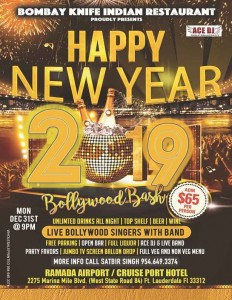 7th Annual NYE Bollywood Bash 2019 - Florida