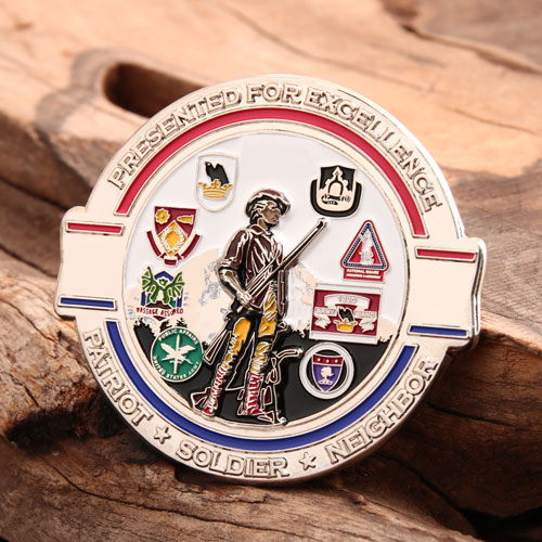 96th Troop Command Challenge Coins (1)