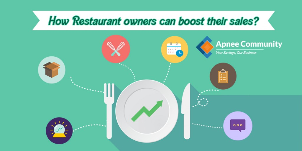 How restaurant owners can boost their sales?