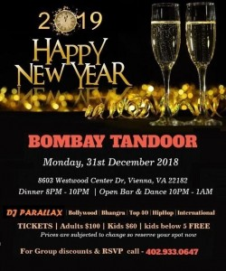 Bollywood New year Party 2019
