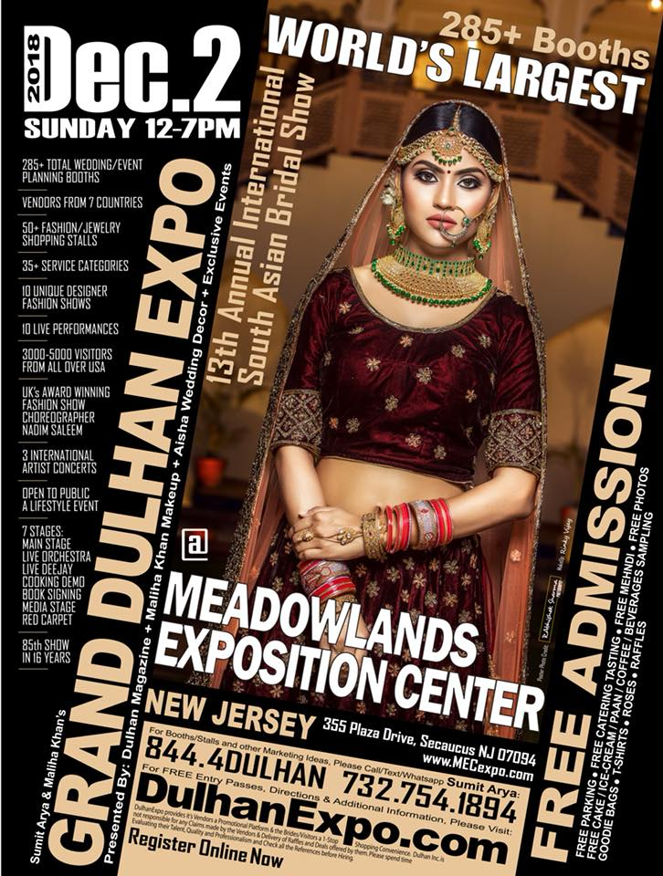 Dulhan Expo Dec 2nd