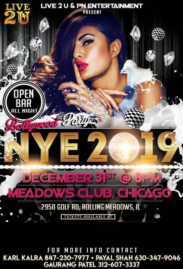 NYE 2019 - Loaded Bollywood Party