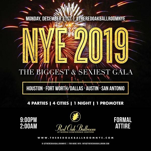 NYE 2019 New Year's Eve Celebration