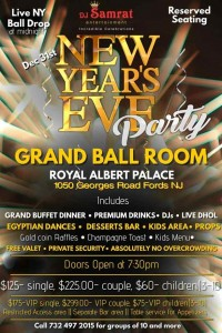New Year's Eve Party - Grand Ball Room