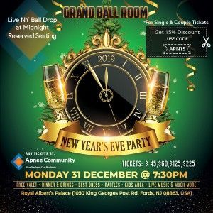 New Year's Eve Party - Grand Ball Room - New jersey