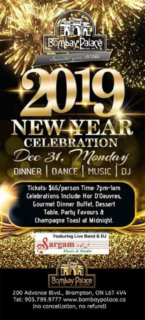 New Year Eve Bash With Best Live Music & Singers