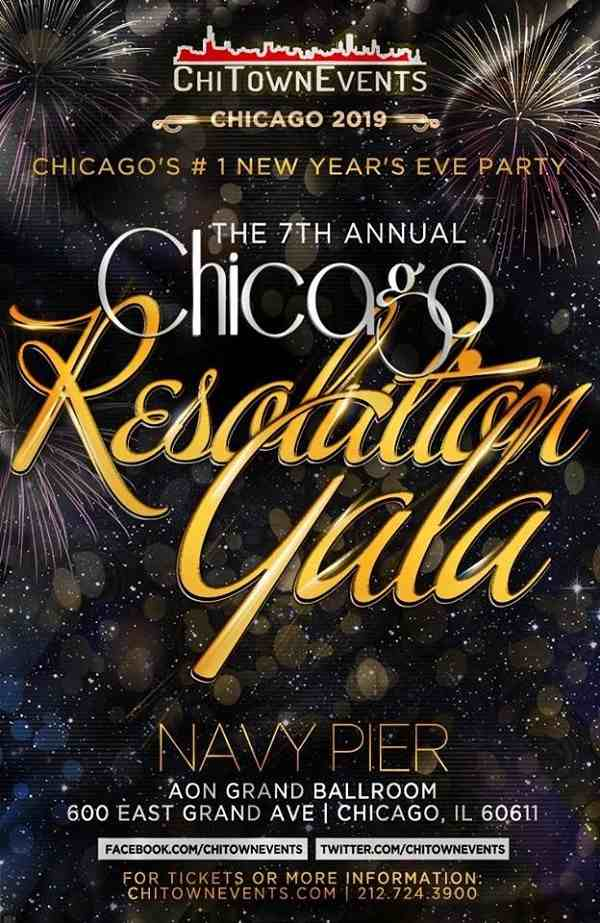 New Year's Eve - 7th Annual Resolution Gala - Chicago