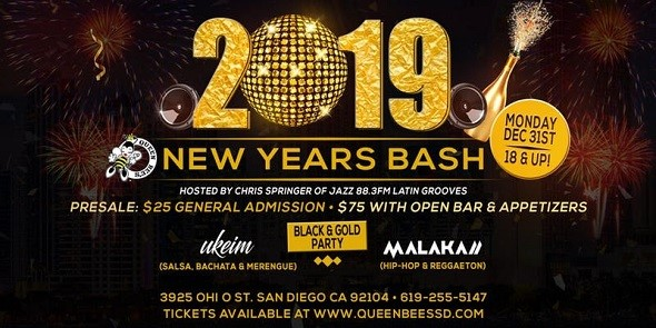 New Years Eve Bash 2019 - California