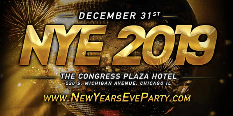 New Years Eve Party 2019 with B96 Chicago