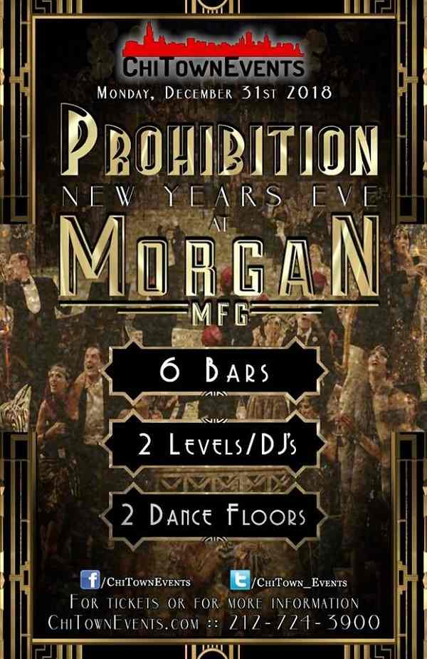 Prohibition New Year's Eve 2019 - Chicago
