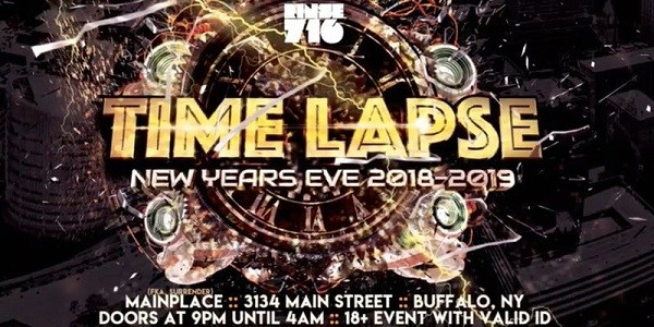 Time Lapse NYE - Buffalo's Annual EDM New Year's Eve Party